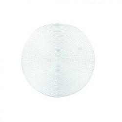 Plastic canvas naturel 14 cm rond