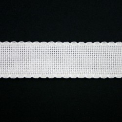 Aidaband 3 cm wit 20 meter