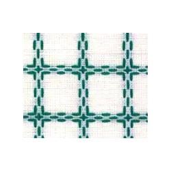 Beiersbont 5400.13 wit/groen 160 cm
