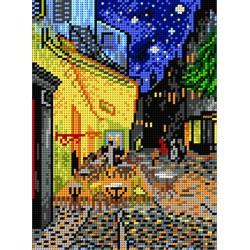 Caféterras bij nacht 1815F