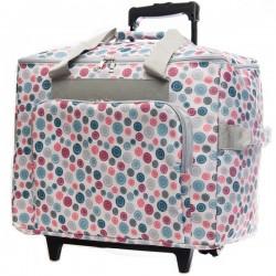 Mobiele koffer art.4680 knoopdessin