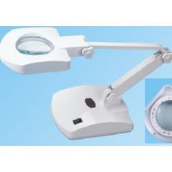 Elektr. loeplamp met schaararm en led-verlichting  art.8611B-led