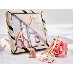 art. N4376 - cadeauset rosé goud