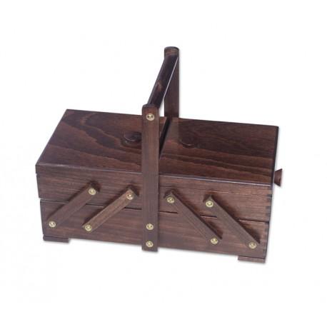 Houten naaibox rustiek, model 36/330