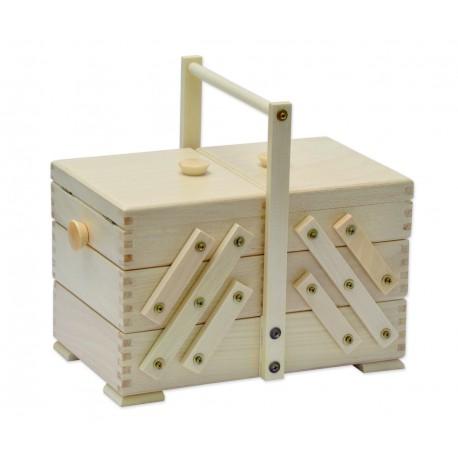 Houten naaibox naturel, model 36/200