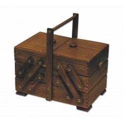 Houten naaibox rustiek, model 36/200
