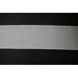 Aidaband 7,5 cm wit 10 meter