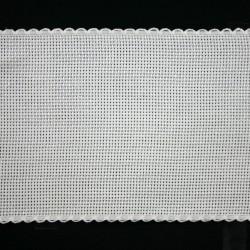 Aidaband 10 cm wit 20 meter