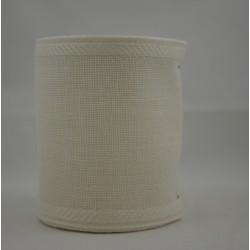 Linnenband 10 cm gebroken wit - 5 meter