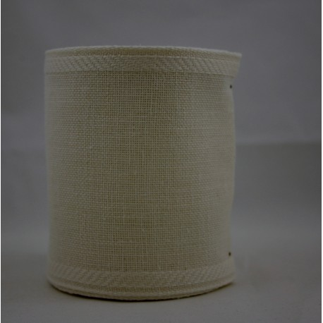 Linnenband 10 cm natuur - 5 meter