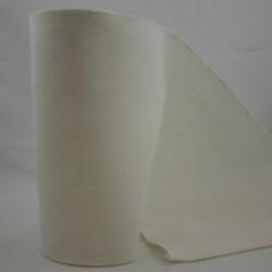 Linnenband 20 cm gebroken wit - 5 meter