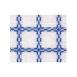 Beiersbont 5400.12 wit/blauw 160 cm