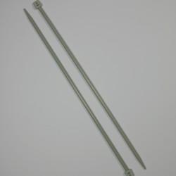 Breinaalden huismerk 40 cm aluminium (grijs)